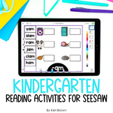 Digital Seesaw Activities   Literacy Bundle