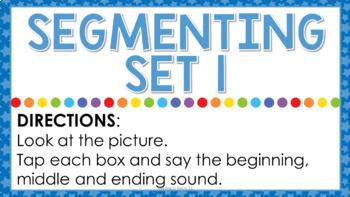 Digital Segmenting: Paperless Phonological Awareness Activity