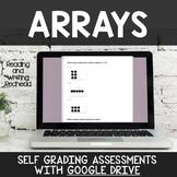 Digital Self Grading Arrays Assessments for Google Drive