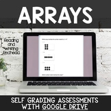 Digital Self Grading Arrays Assessments for Google Drive