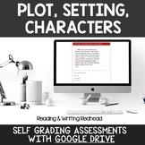 Digital Self Grading Plot, Setting, Characters Assessments