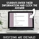 Digital Self Grading Read & Write Numbers to 1,000 Assessments for Google Drive