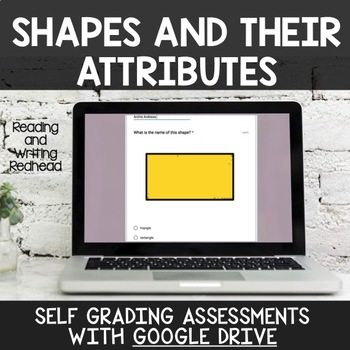 Digital Self Grading Shapes and their Attributes Assessments for Google Drive