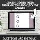 Digital Self Grading Telling Time to the Quarter Hour Assessments for Google