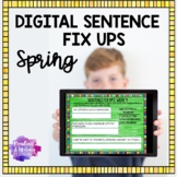 Digital Sentence Fix Ups (SPRING) for Google Drive