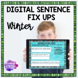 Digital Sentence Fix Ups (WINTER) for Google Drive