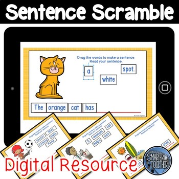 Digital Sentence Scramble
