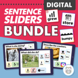 Digital Sentence Sliders Bundle for Speech Therapy