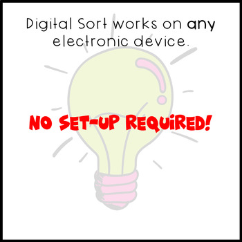 Digital Sentence Sort - Simple, Compound, and Complex