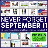 Digital September 11 Patriot Day 9/11 First Responders (Google Paperless ONLY)