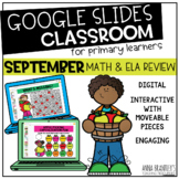 Digital September Math and ELA Review