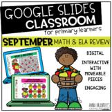 Digital September Math and ELA Review