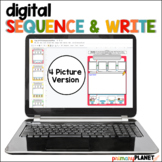 Digital Sequencing Stories Sequence and Write 4 picture version Google Drive