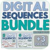 Digital Sequences BUNDLE - INTERACTIVE, NO PRINT PDFS (5 Packs!)