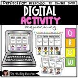 Digital Sequencing Activity   Preschool   Kindergarten   TK