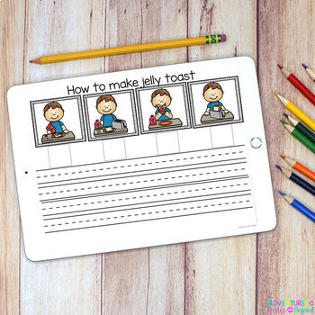 Digital Sequencing Cards for the Google Classroom