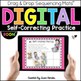 Digital Sequencing Mats™ l Boom Cards {For Distance Learning}