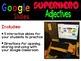 Digital Shades of Meaning Superhero Adjectives ~ Google Slides™