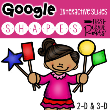 Digital Shapes Interactive Activities using Google Slides