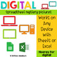 Digital Sheets/Excel Mystery Pictures   Clothing Theme