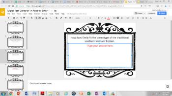 Digital Short Story Task Cards Bundle (Google Drive Edition)