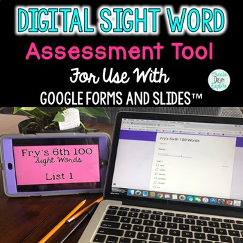 Digital Sight Word Assessment Tool