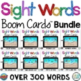 Digital Sight Word Boom Cards Distance Learning Reading Ce