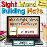 Digital Dolch Sight Word Mats --- 219 Word Building Mats f