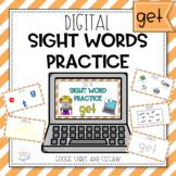 Digital Sight Word Practice GET
