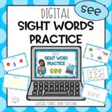 Digital Sight Word Practice SEE