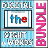 Google Slides Sight Word Games and Activities for Digital