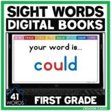Digital Sight Words for Google Slides™ | First Grade