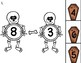 Digital Skeleton Subtraction Game