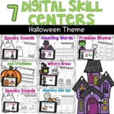 Digital Skills Centers Halloween Theme