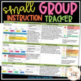 Digital Small Group Tracker ANY Class ANY Grade + EDITABLE!