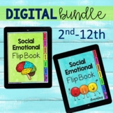 Digital Social Emotional Flip Book Bundle Elementary and Teens