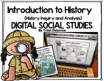 Digital Social Studies: Introduction to History on Google Slides