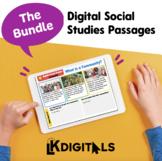 Digital Social Studies Passages | Distance Learning
