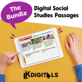Digital Social Studies Passages | Distance Learning