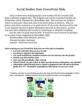 Digital Social Studies Project (50 states)