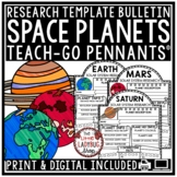 Digital Solar System Activities - Planets Research Project