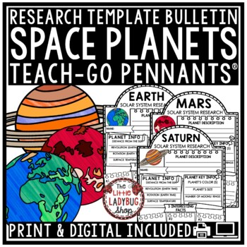 Digital Solar System and Planets Research Project Paperless Activities