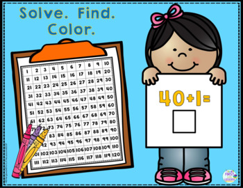 "Digital Solving Addition Facts And Secret Words On The Number Grid: ""AND"""