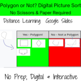 Digital Sort- Polygons & Non-Polygons - Perfect for Review