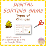 Distance Learning - Physical & Chemical Changes - Sorting