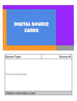 Digital Source Cards