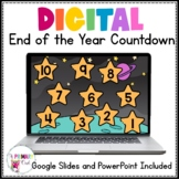 Digital Space Themed Countdown Customize with 22 Different Days