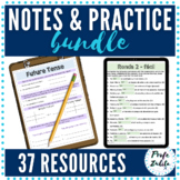 Digital Spanish Guided Notes and Practice | BUNDLE