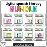 Digital Spanish Literacy Growing Bundle | Google Classroom™