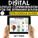 Digital Special Education: Leveled Comprehension (Digital